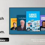 Image for the Tweet beginning: ⚠️ Roku and AppleTV users
