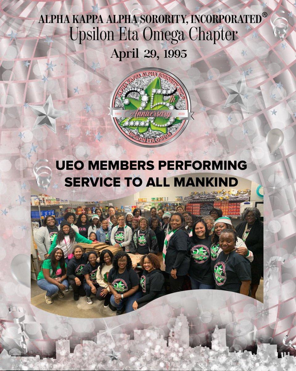 Happy Charter Day and 25th Anniversary UEO!  ⠀⠀⠀⠀⠀⠀⠀⠀⠀ #AKA1908 #AKASouthEastern #AKAUEO #AKAUpsilonEtaOmega @akasorority1908 @AKASouthEasternpic.twitter.com/ty0GdM7QDR