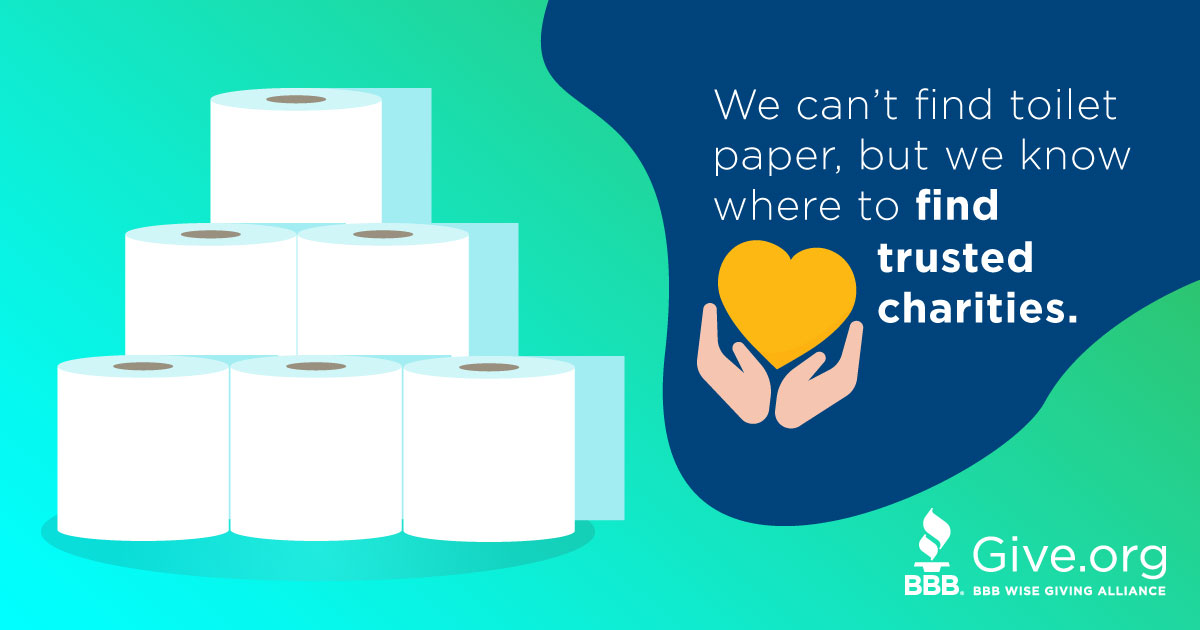 Together We Give. Giving is always stock piled. At Give.org find an abundance of trusted charities.