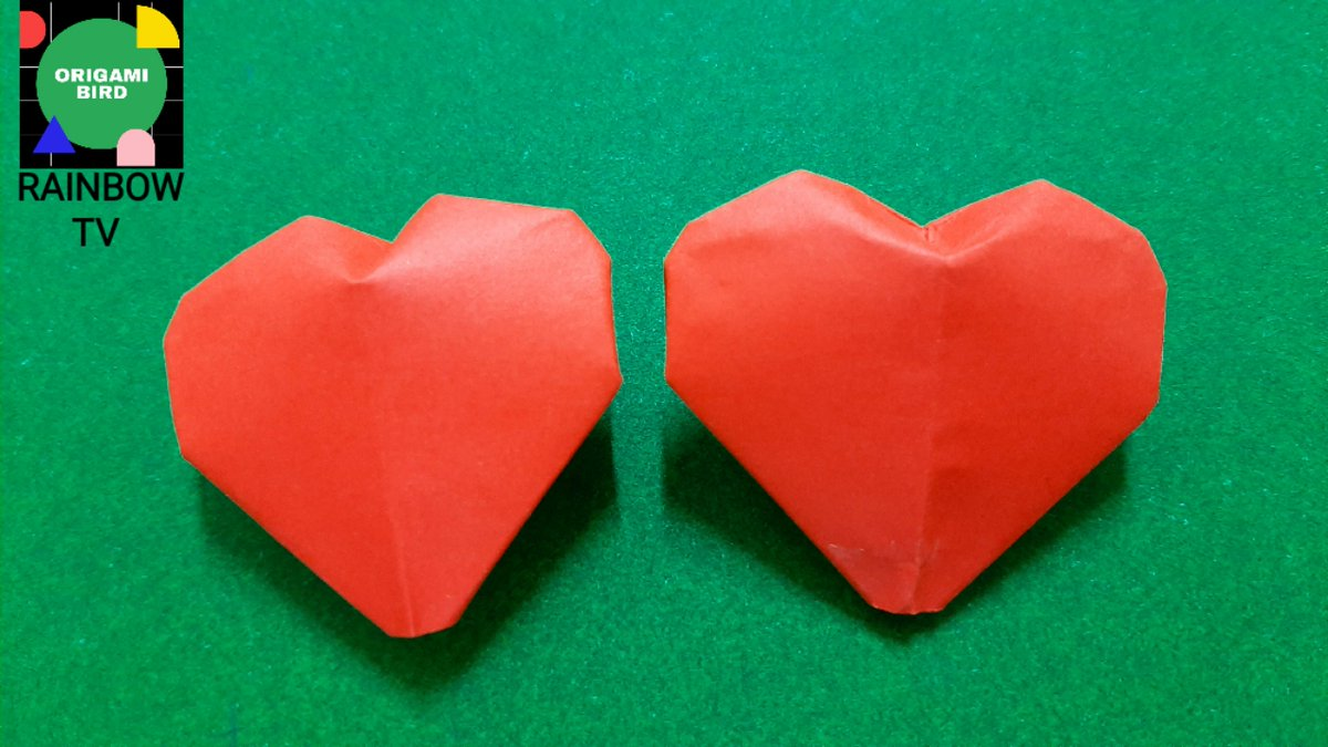 Unique How To Make Origami Love Heart Puffy Hearts Using Post It ... | 675x1200