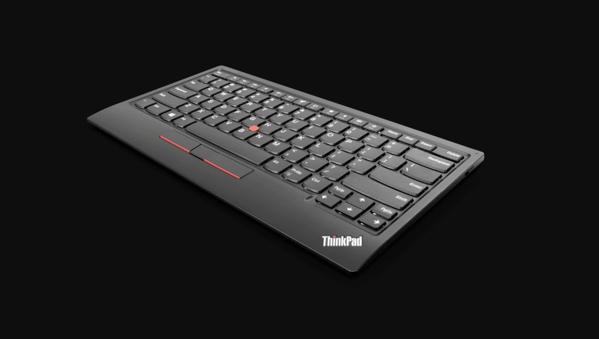 Lenovo's new ThinkPad keyboard is the best way to get the infamous nub on your desktop