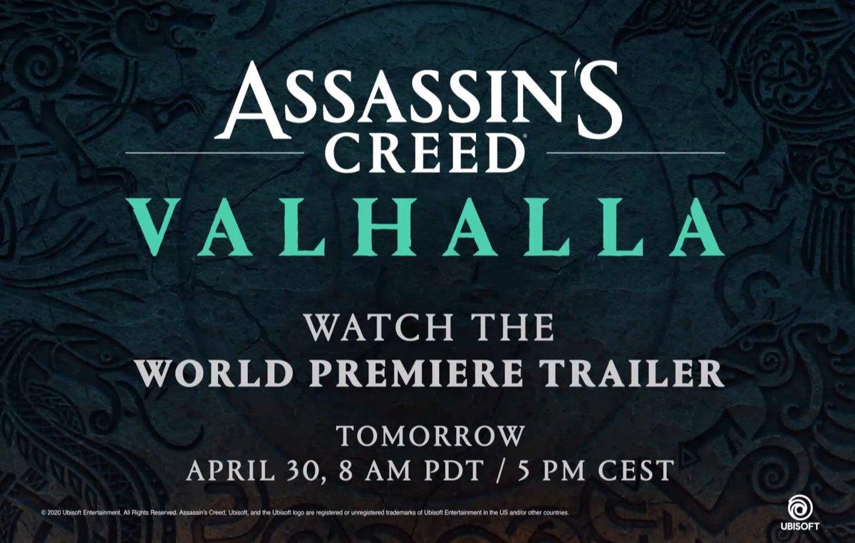 #AssassinsCreedValhalla