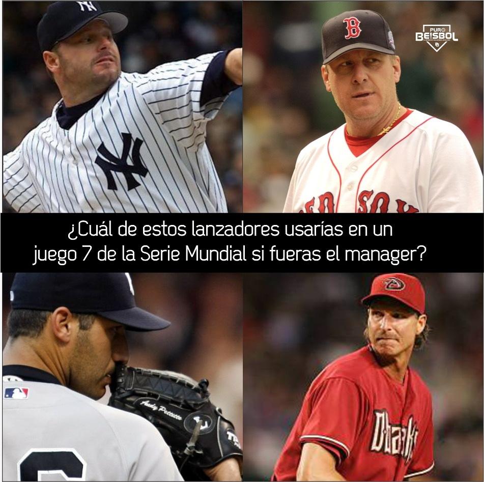 Yo voy con Randy Johnson. 💪  #MLB #Caballos