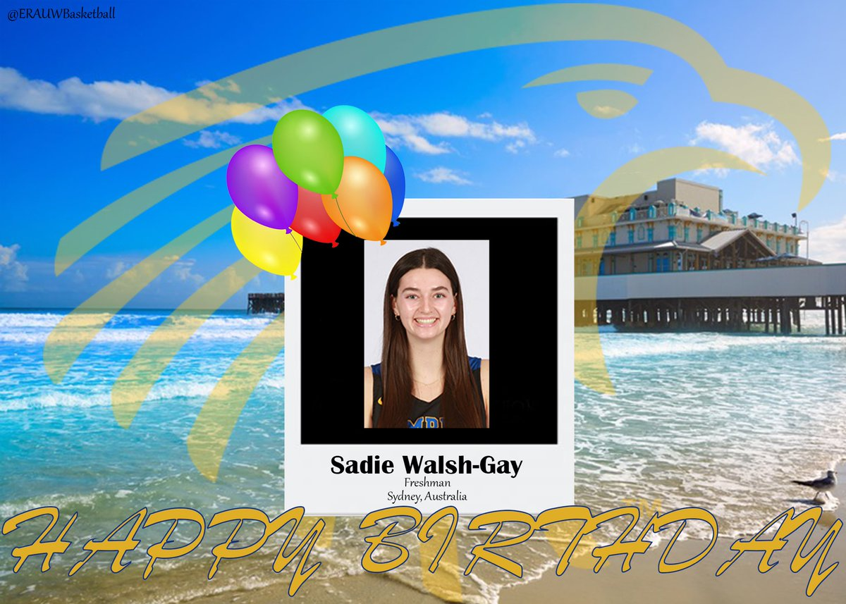 Happy Birthday to Freshman Sadie Walsh-Gay! She is pursuing a degree in Human Factors Psychology.   Fun Fact: got lost at a wiggles concert when I was little and they sang a song about me to find me!   Enjoy your special day!🎉 https://t.co/q0OsLt0L9s