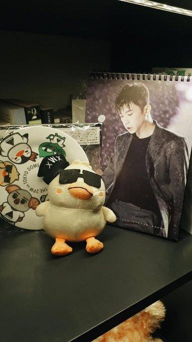 Happy birthday jang wooyoung! this is my impromptu altar for your birthday!