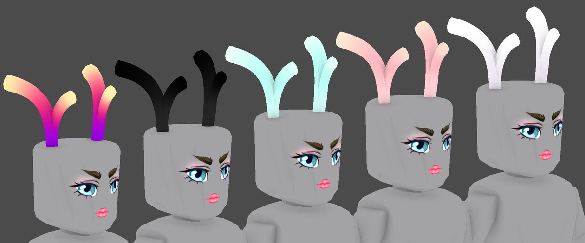 3 Roblox Girls Pfp Erythia On Twitter Stubby Antlers In A Variety Of Colors I Have A Few Other Ideas For The Rest Of This Week Cannot Wait 3 Roblox Robloxugc Https T Co J0mcisk1bs