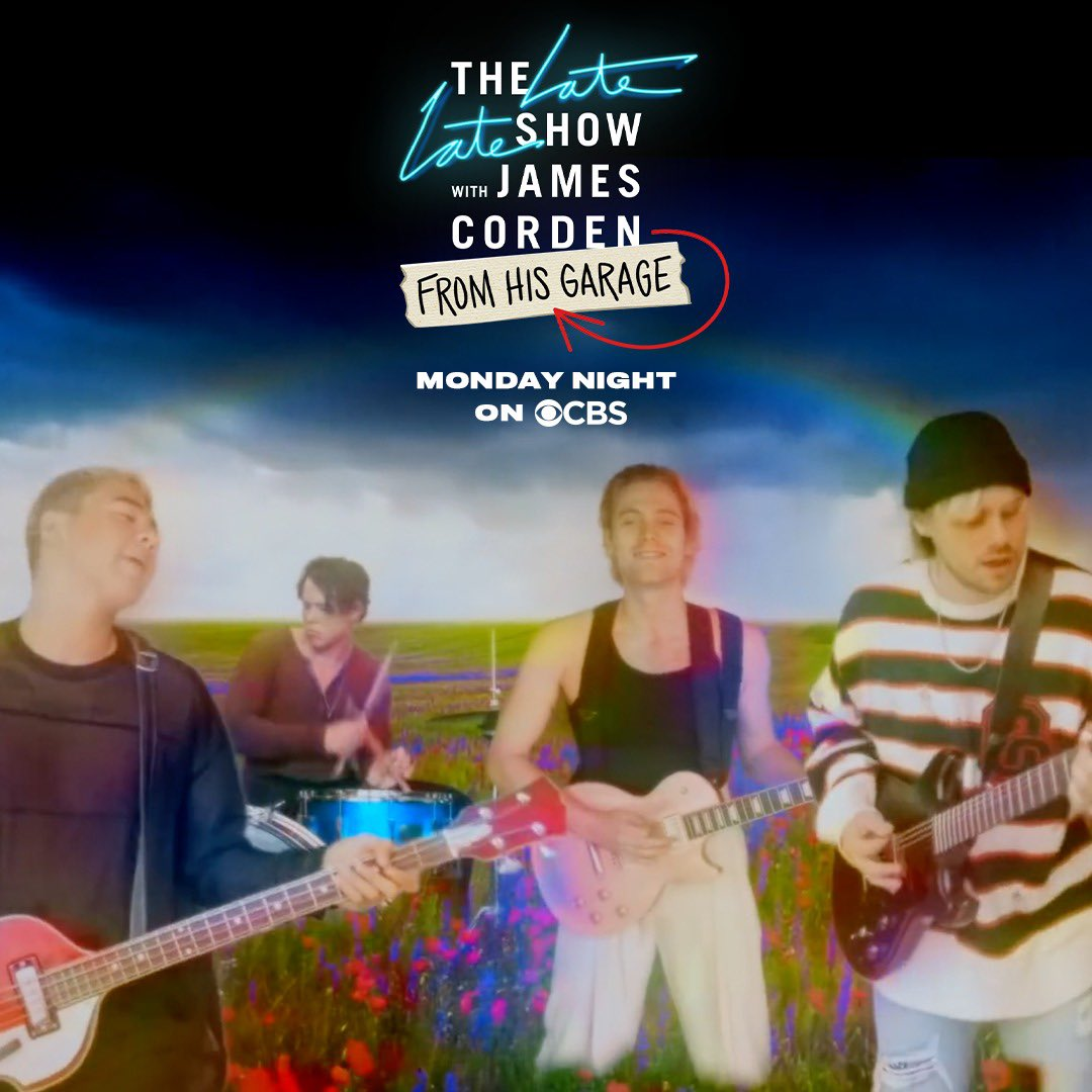.@latelateshow // Monday night on @CBS