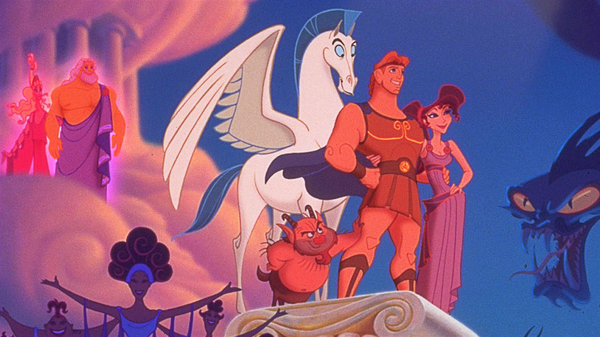 A live-action 'HERCULES' remake is in development at Disney. (Source: )