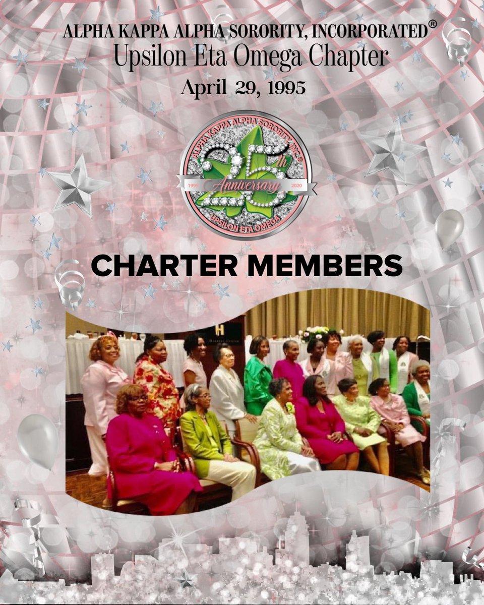 Happy Charter Day and 25th Anniversary UEO!   - UEO Charter Members ⠀⠀⠀⠀⠀⠀⠀⠀⠀ #AKA1908 #AKASouthEastern #AKAUEO #AKAUpsilonEtaOmega #AKAUEOTurns25 @akasorority1908 @AKASouthEasternpic.twitter.com/fTUJxh4mdU