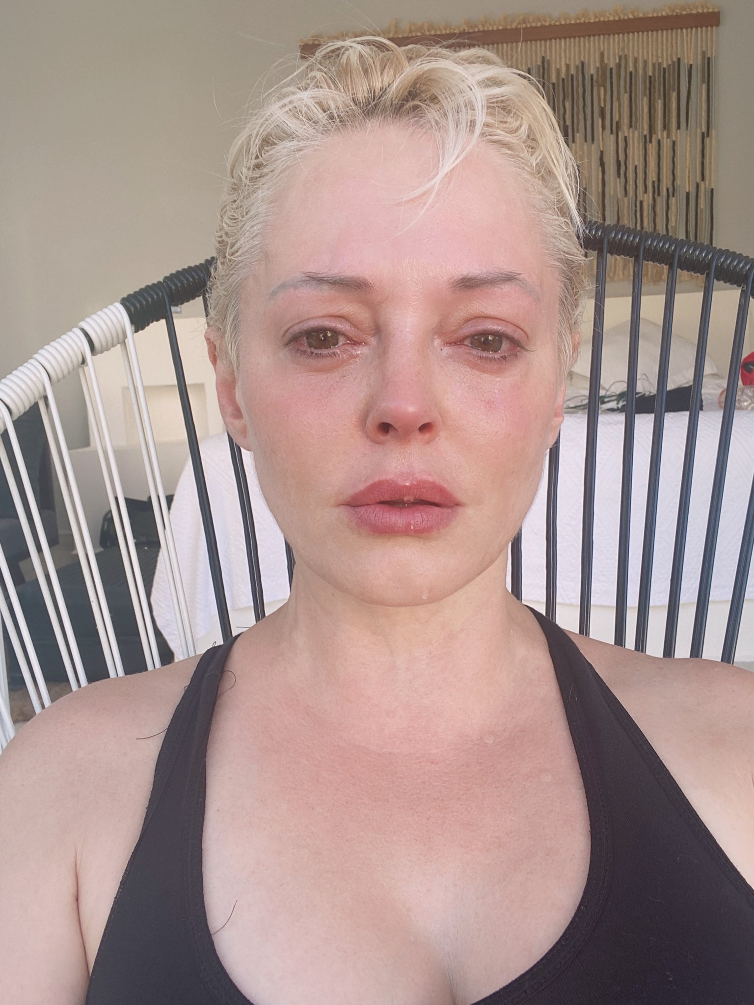 Rose Mcgowan On Twitter I M Really Sad And I M Really Tired I Normally Share Thoughts But Tonight It S Emotion