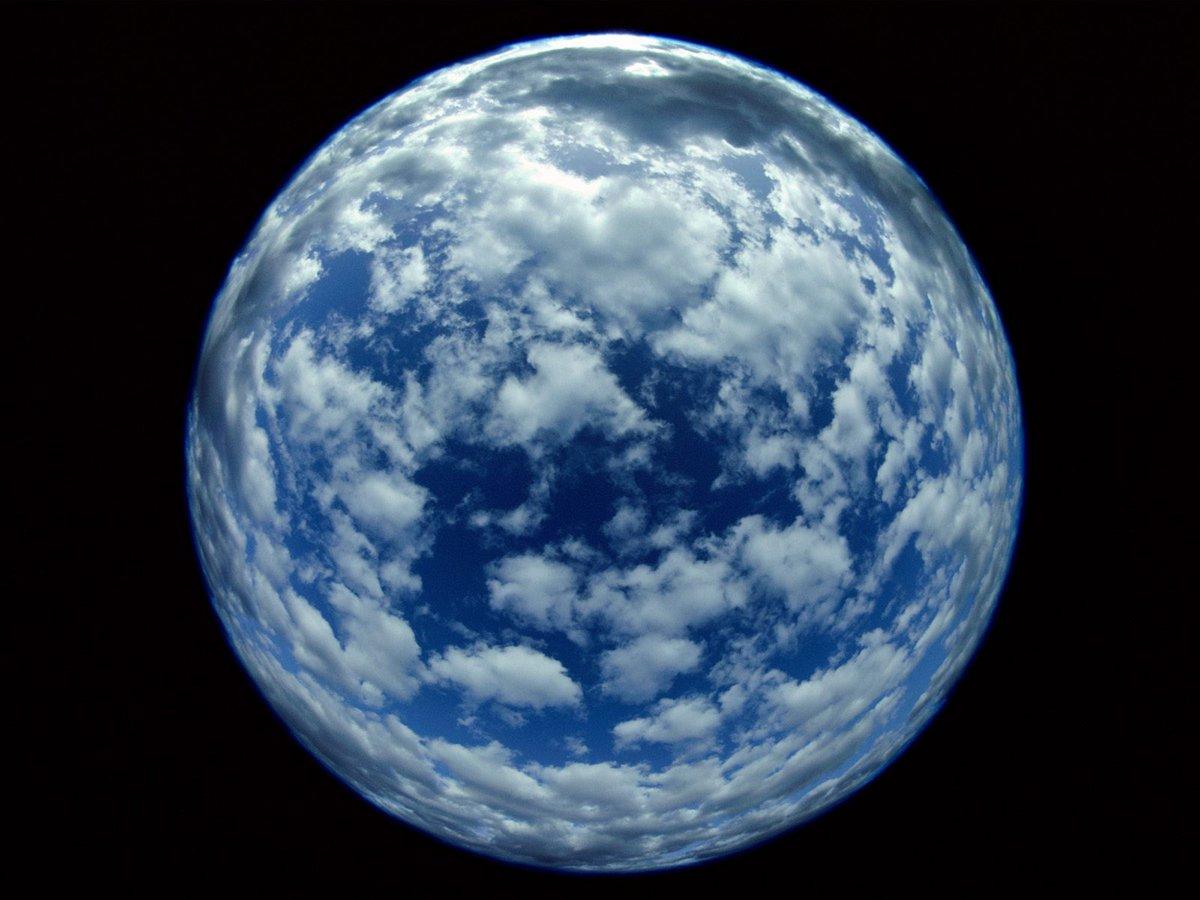 облака вокруг земли картинки слуховой аппарат