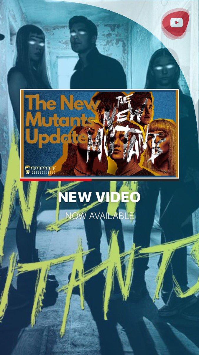 In this video we will be looking into The New Mutants new release date and trailer  Link:  https://t.co/MGM5OAuXPE  #ColossalCollectibles #NewMutants #TheNewMutants #marvel #mcu #DemonBear #TheSmilyMen #leak #screenshots #disneyplus #disney #teaser #spoiler #Illyana #xmen https://t.co/UBKtFIMjn7