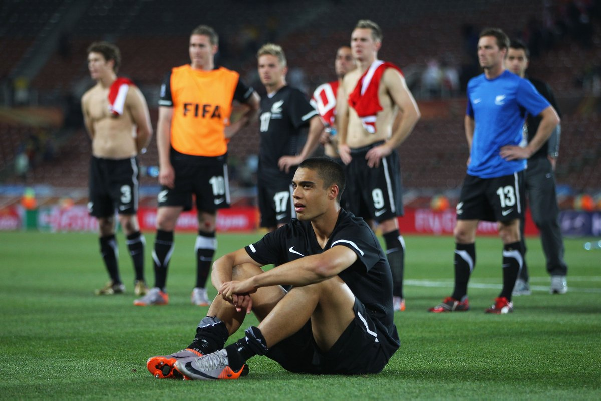 0 - New Zealand were the only unbeaten nation at the 2010 World Cup finals, drawing all three group stage games. However, they didn't make it to the knockout round. Quirk. #OptaWCYears