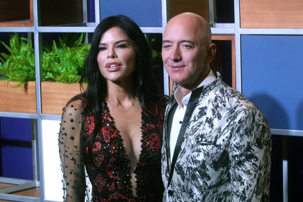 There once was a chap called Jeff, Who left the high street in a bit of a mess, But he does need a trillion, How else could a reptilian, Hook up with the beautiful Sanchez. #JeffBezos