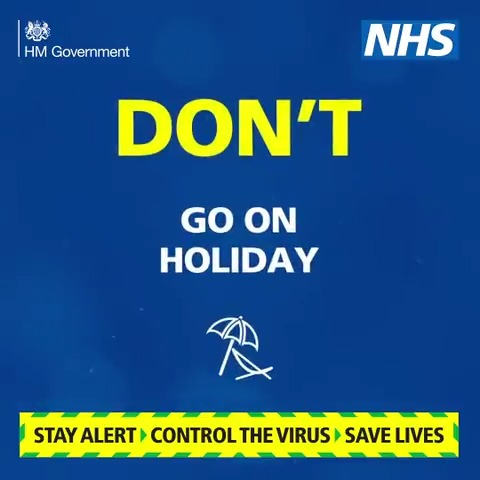 Follow the rules to stop the spread. Find out more: gov.uk/government/pub… #StayAlert