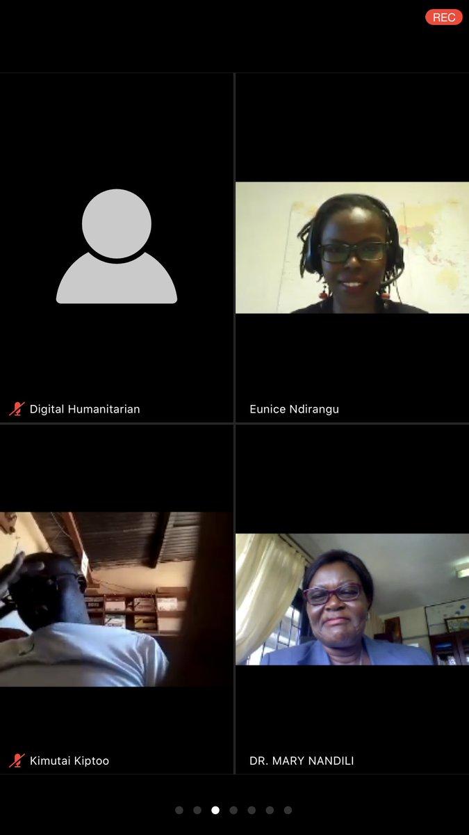 @UNFPAKen @UNFPA @OlajideDemola @UNFPA_ESARO @MOH_Kenya @Atayeshe @salhaj @NCKenya @KenyaNM2020 We need to generate enough Data📋📊on Nursing & Midwifery Can we make use of experienced Retired Nurses & Midwives Dr. Mary Nandili, Director of Nursing services at @MOH_Kenya Insightful Zoom Meet organised by @UNFPAKen chaired by @DrENdirangu cc @NCKenya @Kenyamidwives