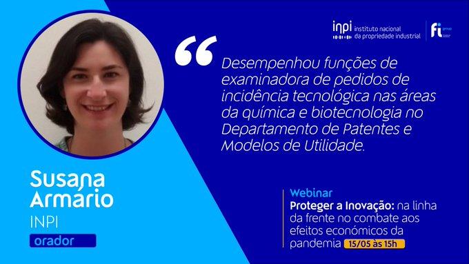 É já amanhã, 15 de maio, às 15h, que vamos estar à conversa com Susana Armário, chefe de D....
