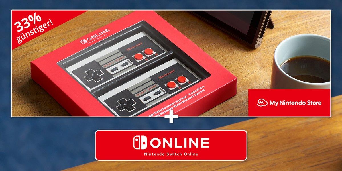 Bis zum 31.05. kann jeder #NES-Controller 33 % günstiger und im Set mit einer Einzel- und Familienmitgliedschaft bei #NintendoSwitchOnline kaufen!   Hier geht's zum Sonderangebot: