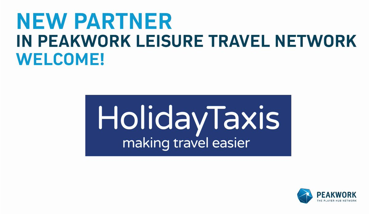 Peakwork has recently completed an API integration with HolidayTaxis, which allows the worldwide distribution of high quality transfer products via the Peakwork network partners. https://t.co/CtwCrFuTWR https://t.co/g9TNy5CReV