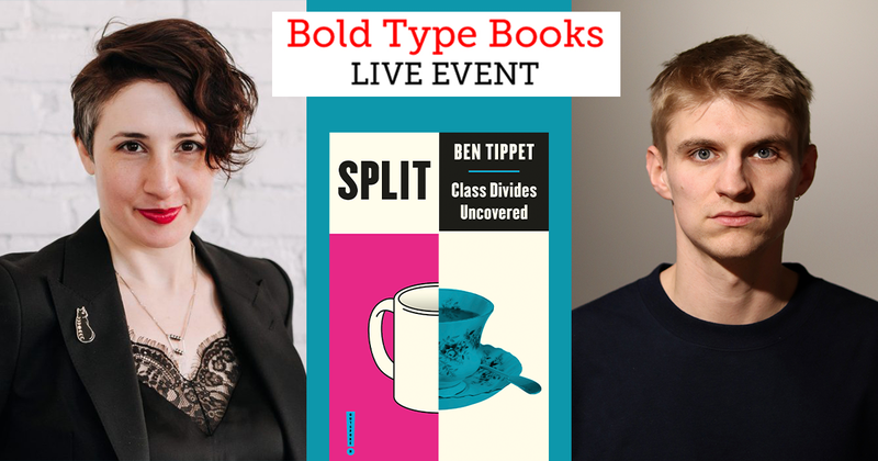 ⚡️TOMORROW!⚡️ How can we make sense of a world where we have both too many billionaires and too many food banks? Weve teamed up with @BoldTypeBooks to bring you a discussion with @sarahljaffe and @BenTippet on class and inequality. Sign up here: crowdcast.io/e/jaffe-tippet…