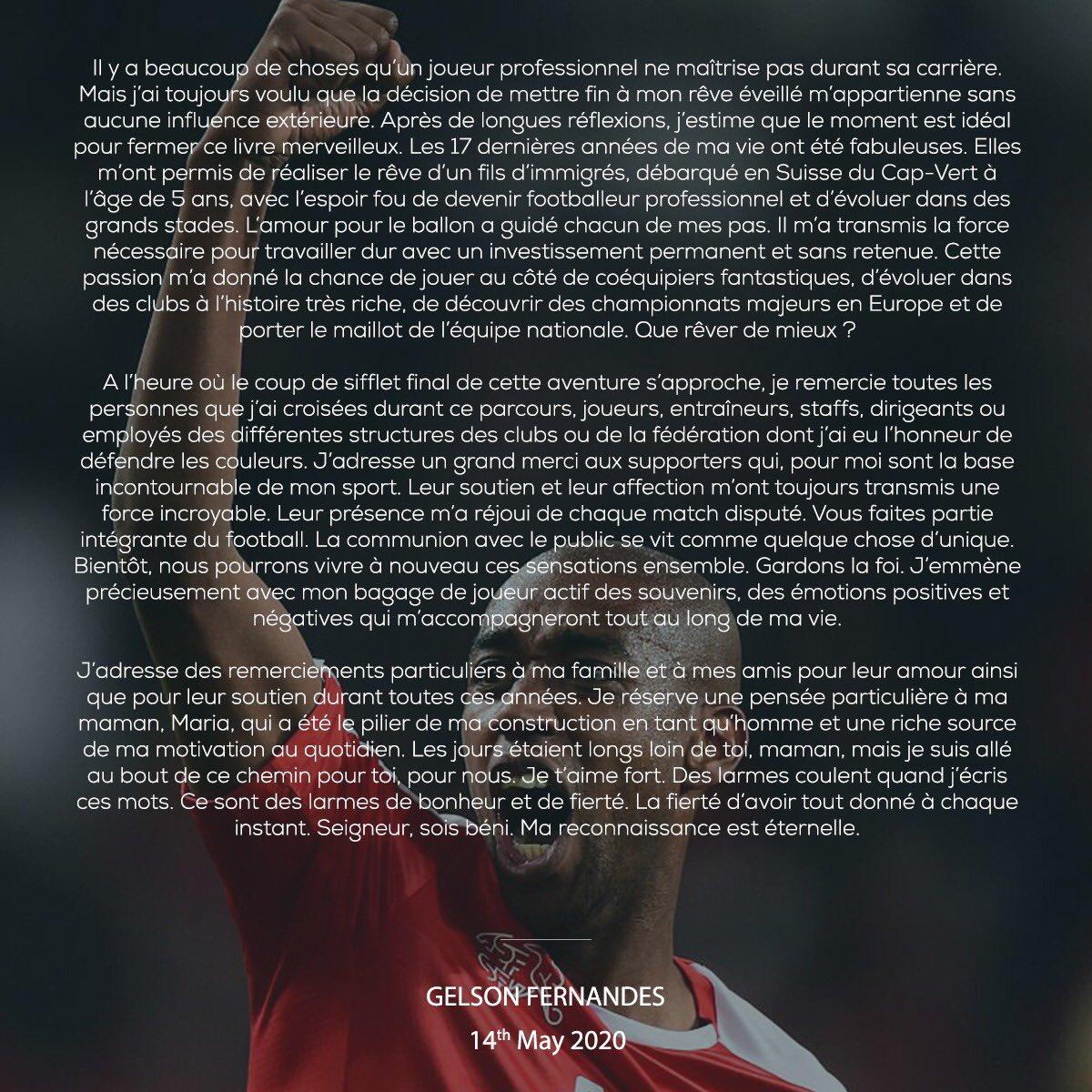 La derniere ligne droite en tant que footballeur professionnel. Merci mon Dieu pour tout❤️ https://t.co/GLiUknne2w