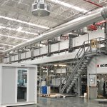 Image for the Tweet beginning: A BOBST CO 8000 is
