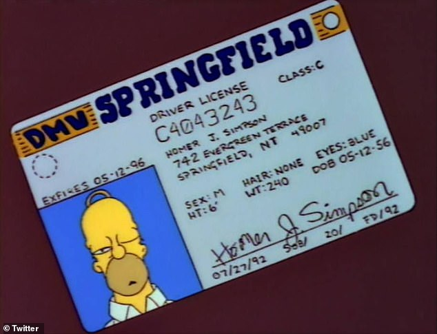 Happy belated birthday Homer Simpson