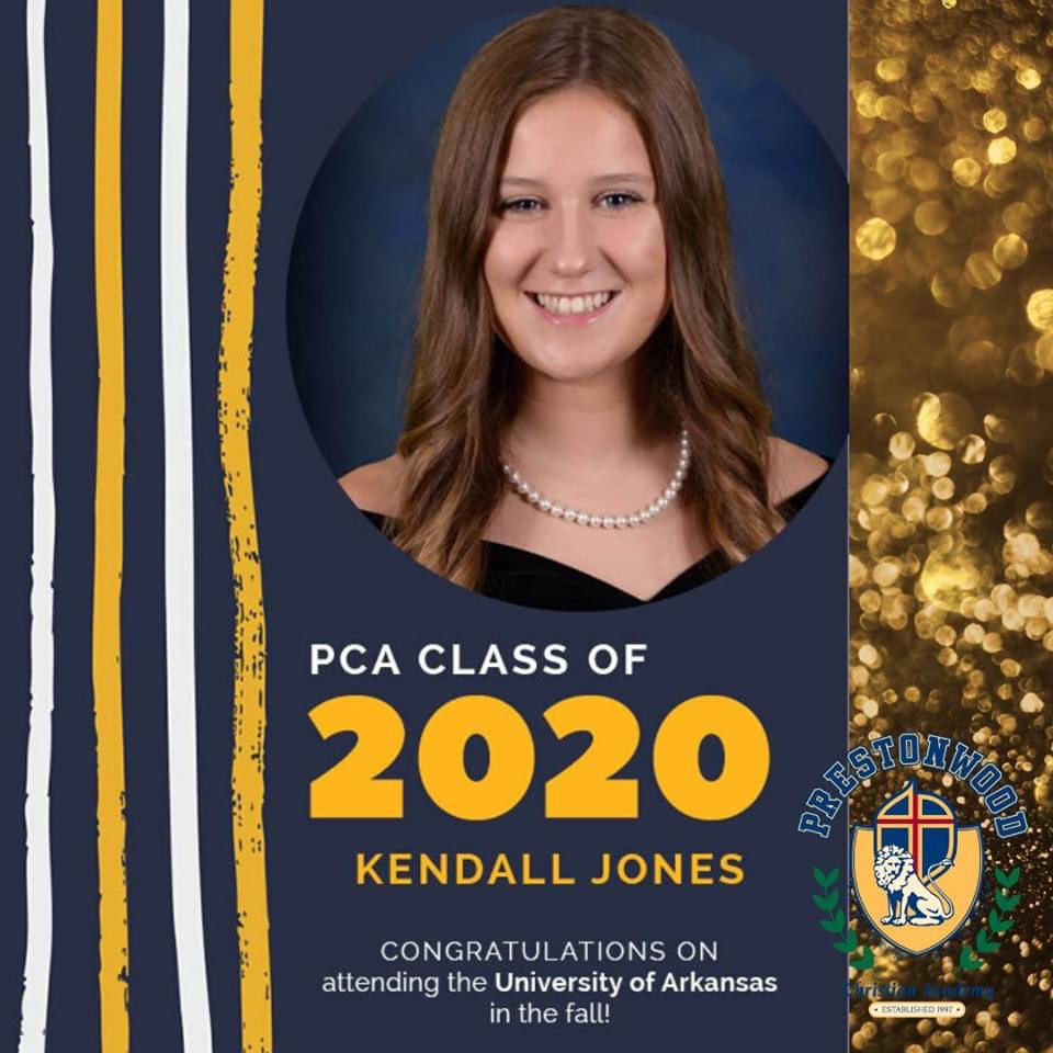 Congrats to four more of our Seniors from the #classof2020! #pcaonline2020