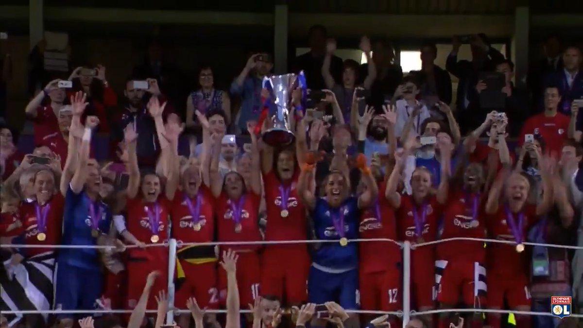 #OLRétro 26 mai 2016 : La #teamOL remporte sa 3ème @UWCL 🏆🏆🏆