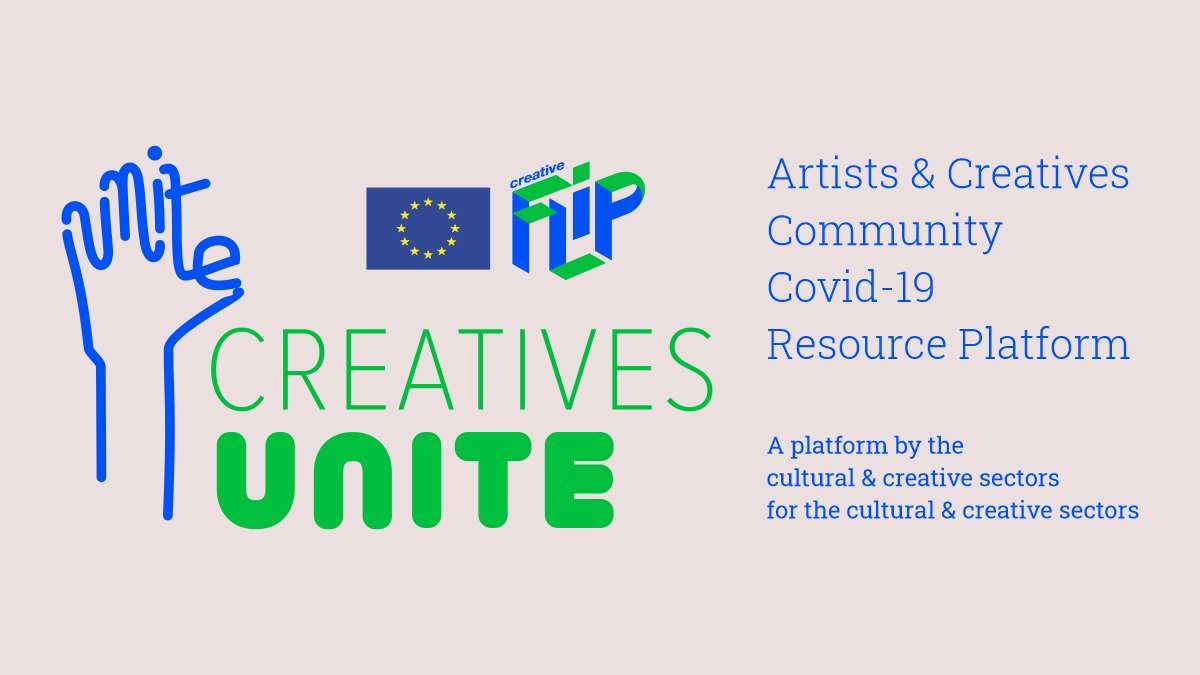 A strong first week for the new #CreativesUnite #Covid19  resources platform:  ✅10K+ visitors  ✅90 contributions  ✅Daily updates by and for the creative sectors  JOIN NOW to contribute and help co-create innovative solutions → https://t.co/NILVIs1PNq #CreativeEuropeAtHome https://t.co/K6gjT3gIGW