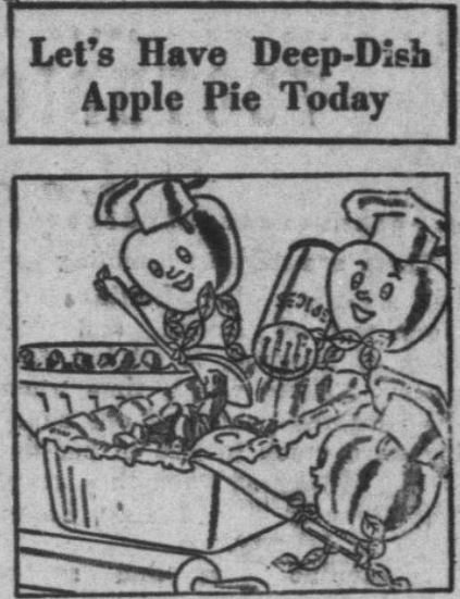 It's national #applepie day! Celebrate by giving this vintage recipe a try! chroniclingamerica.loc.gov/lccn/sn8301624…