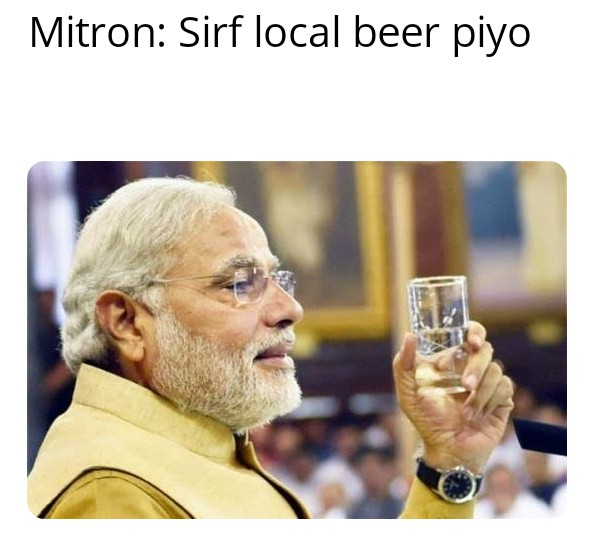 @PMOIndia sir plz tell state excise DPT. to save local microbreweries. Y discriminate. only we are shut pan india.  V R 180 Microbrewery all across India.  why law favours outsiders and big players like Budweiser.  #savelocalbeer #vocal4local  @indiatvnews @republic @TOIGurgaon