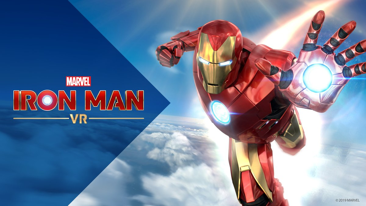 SIE Update: We are pleased to announce that Marvel's Iron Man VR will release on July 3. Please look forward to more news in the coming weeks! https://t.co/aVk2khLNEW