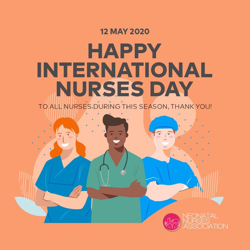 Happy Nurses Day 2020. From the Neonatal Nurses Association https://t.co/its8h6ahFk
