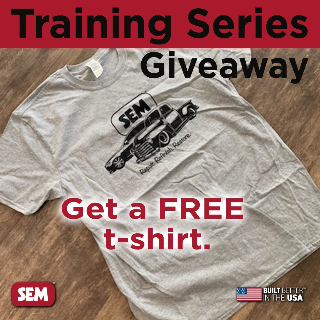 TRAINING SERIES GIVEAWAY!  Would you like to get a FREE SEM T-shirt?  Watch the training and pass the test at:  https://t.co/DO5NA8cGDR  Terms and conditions apply. See link for details. https://t.co/qJQWR8vz6c