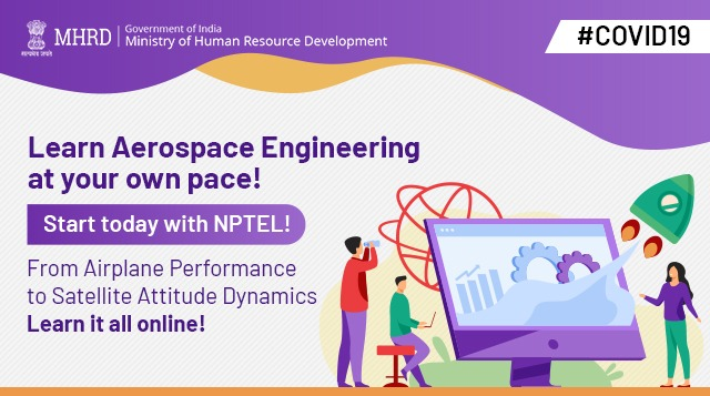 If you are an aerospace enthusiast, we found a perfect course for you on @nptelindia ! Start learning now: https://onlinecourses-archive.nptel.ac.in