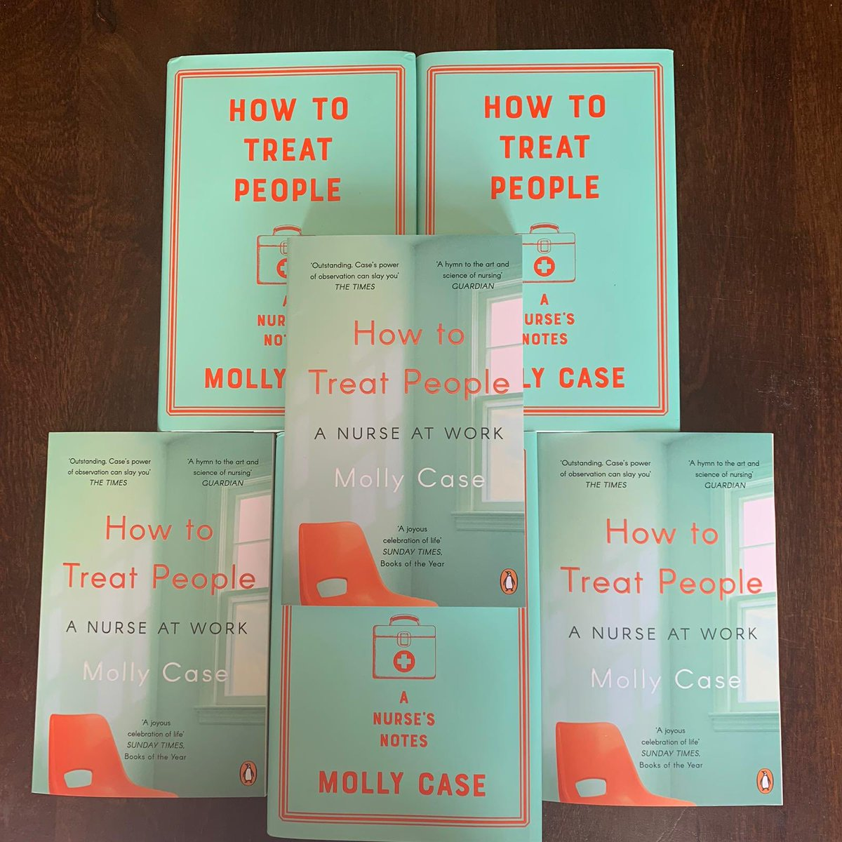 ➡️ GIVEAWAY! 🙌 Happy International Nurse's Day! 💙 To celebrate I'd like to giveaway 6 signed copies of my book HOW TO TREAT PEOPLE 💫 Simply RETWEET & I'll pop them through a randomiser to select 6 this week! 😃 #InternationalNursesDay #IND2020 #Nurses2020 #ThankYouNurses