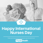 Image for the Tweet beginning: This #InternationalNursesDay, we salute the