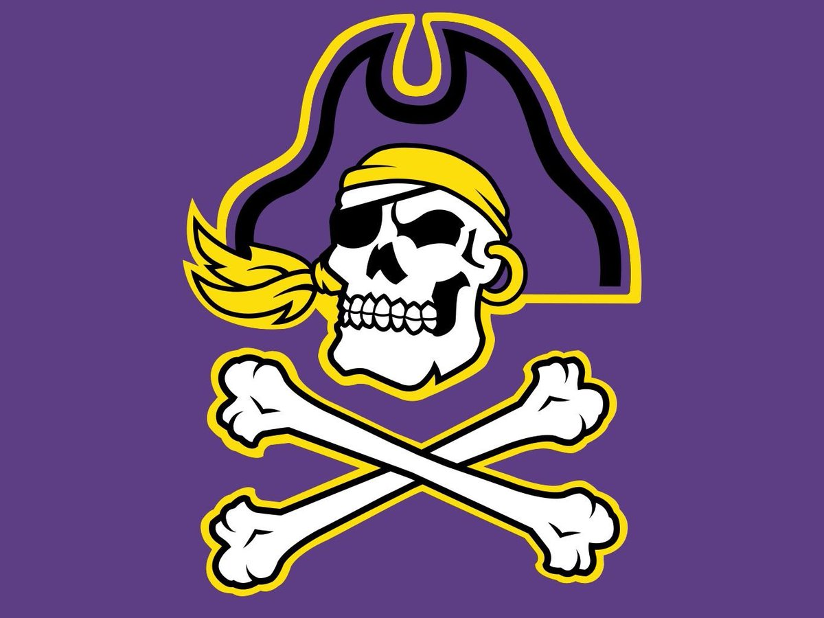 Thanks to @Coach_B_Harrell and @ECUPiratesFB for calling and recruiting our school! 🏴‍☠️ ⚔️