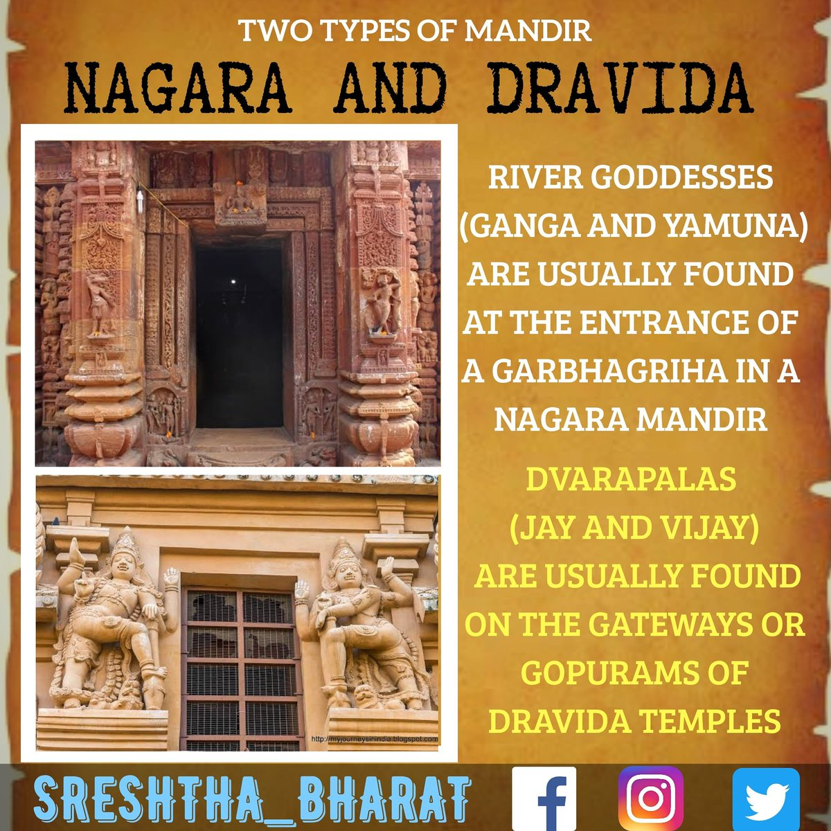 #temple_architecture  We will be getting closer to the Great Temple Architecture of our Sreshtha Bharat  Follow @Sreshthabharat on Facebook | Instagram | Twitter 🙏  #indianculture #indianarchitecture #hinduarchitecture #temple  #worship #templeworship #dravida #mandir #devasthan https://t.co/0xWNgtbzzr