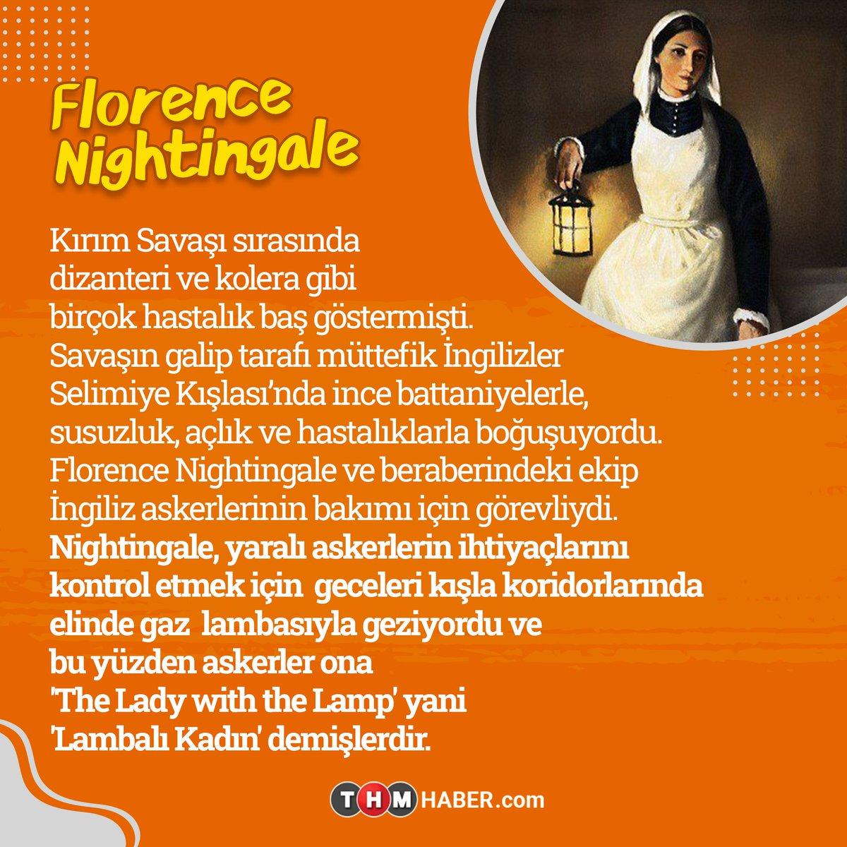 Florence Nightingale, hayatı boyunca hemşirelik yaparak tüm insanlar için çabaladı.  Onun doğum gününü her yıl Dünya Hemşireler Günü olarak kutluyoruz.   #DünyaSağlıkGünü