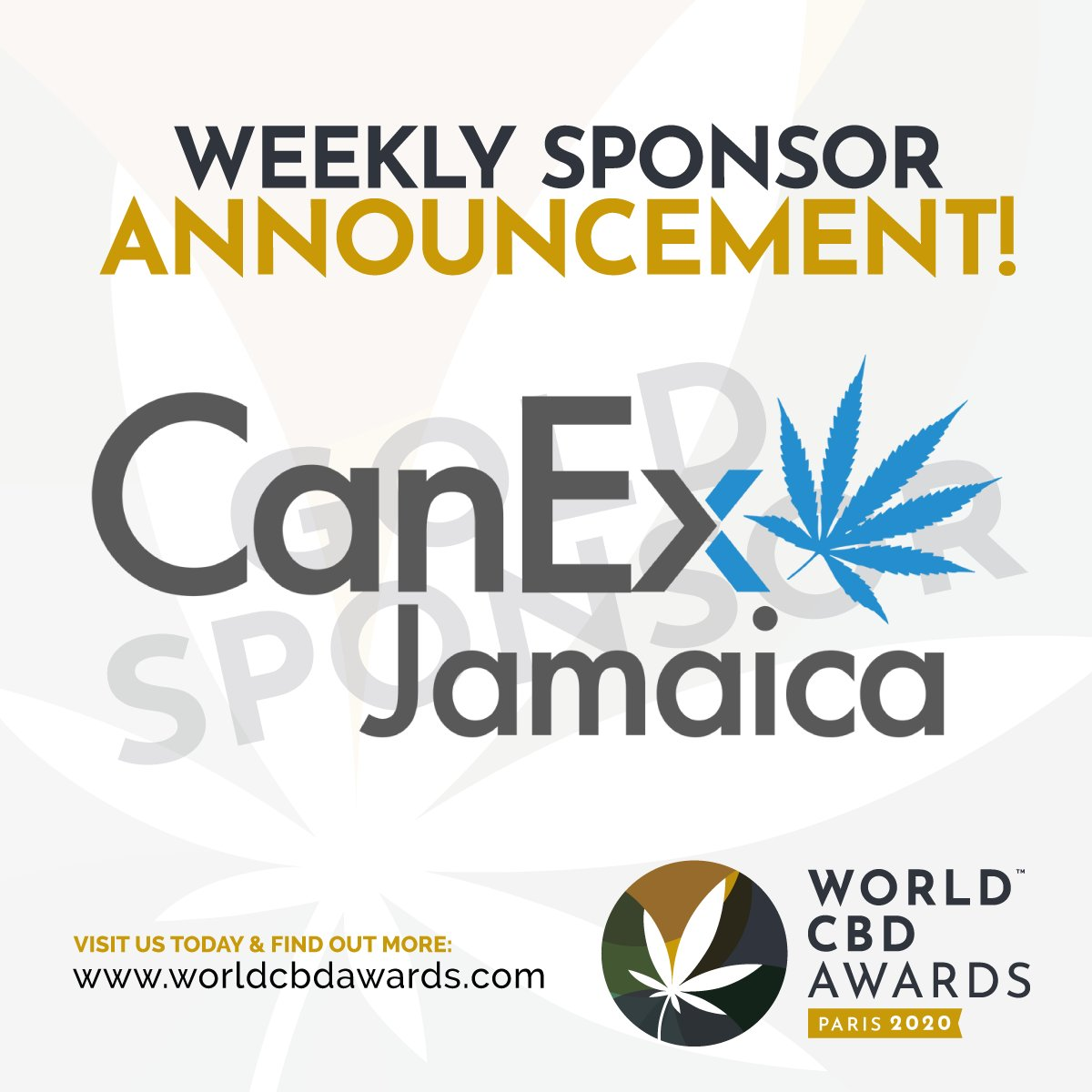 Showcasing Canex Jamaica...  Canex Jamaica host an amazing Expo every year in Jamaica, with many companies attending all over the world!  See their fantastic Expo and more over on their website:  https:// canexjamaica.com       #WorldCBDAwards #CanexJamaica #CBDEvents #CBD<br>http://pic.twitter.com/MUcAe7ArKX