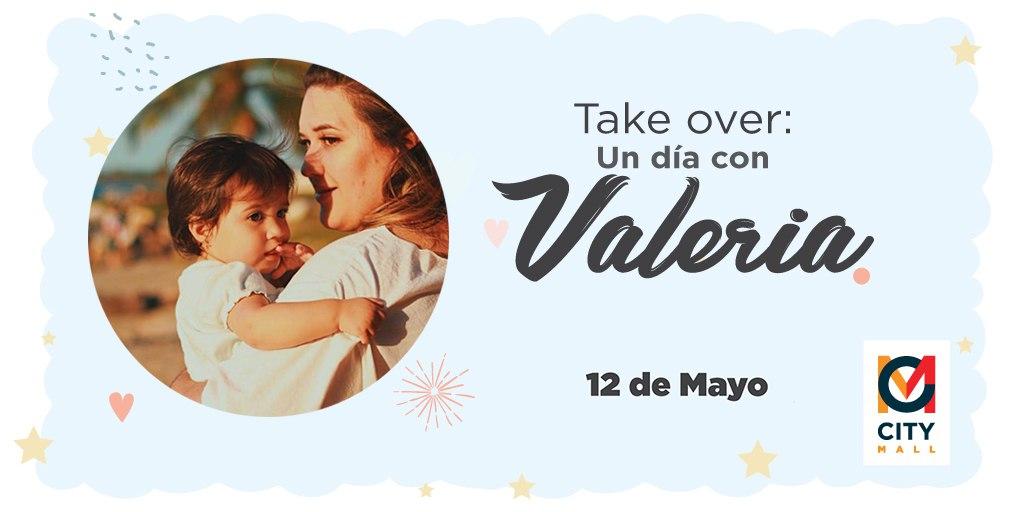 Te esperamos hoy en el #TakeOver con Valeria Rodríguez con tips importantes y prácticos para tu día. 😍 #TalentoCuarentena #CityMallHND #CAM💙 https://t.co/3gTnAOZfZ0
