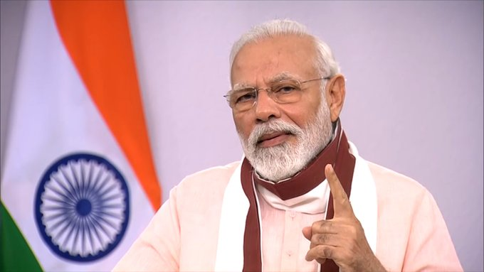 Development in India impacts world: PM Modi on fight against Covid-19  IMAGES, GIF, ANIMATED GIF, WALLPAPER, STICKER FOR WHATSAPP & FACEBOOK