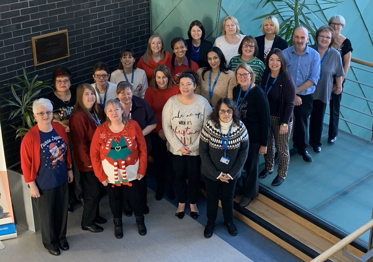 Happy International Nurses Day to every nurse @nhsuhcw. A special thank-you to our UHCW Occupational Health nurses - proud that you are part of the Workforce Team (picture from Christmas time when social distancing wasn't a thing) @UHCW_CWIO