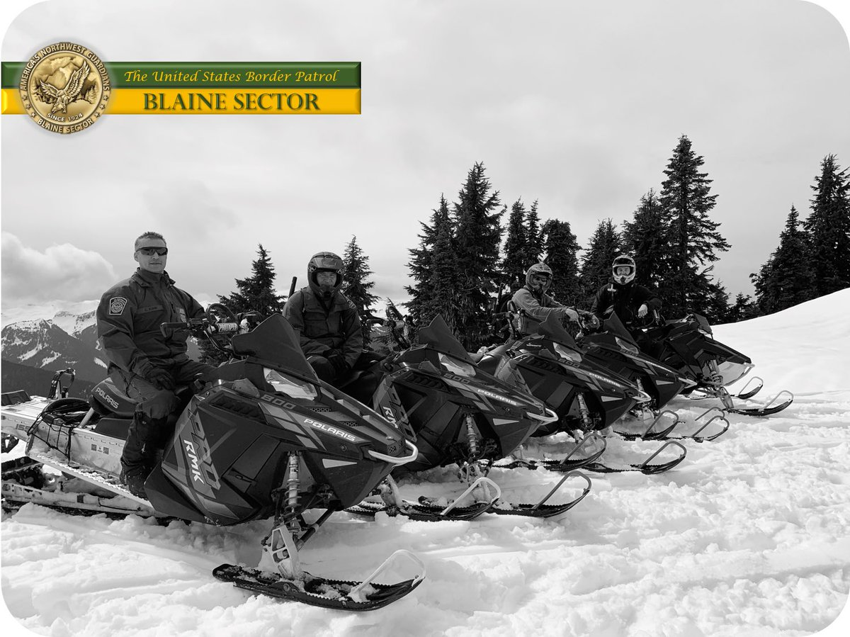 No matter the terrain or weather #USBP Blaine Sector will secure the border. #HonorFirst #ServiceToCountry #NationalPoliceWeek<br>http://pic.twitter.com/YJdCTBbf0i