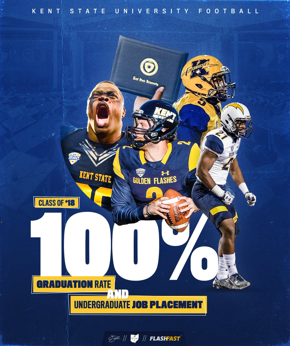 100%. Become winners on the field AND off the field at Kent State⚡️ #FlashFAST | #BTA