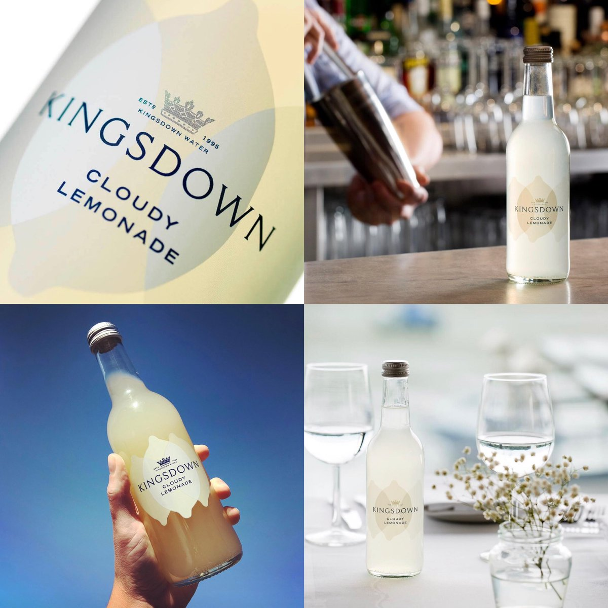 Today we are showcasing our Flavour of the week - Kingsdown Cloudy Lemonade🍋  The perfect soft drink over ice or add a measure of your favourite gin to make something a little more grown up 🥂 #TuesdayMotivation #buyonline   https://t.co/xG6TUecIEG https://t.co/JW3f11GNcx