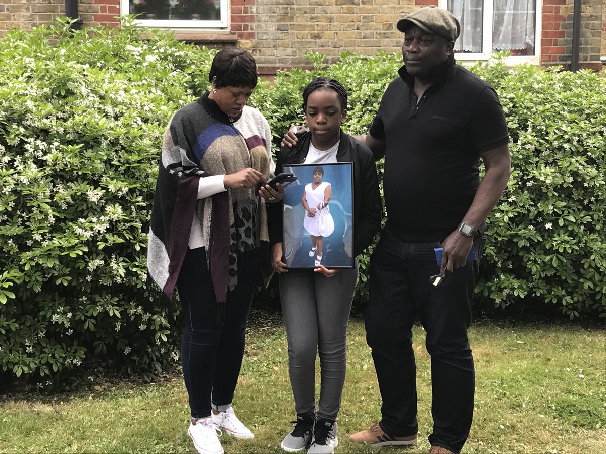 Tonight @Channel4News the family of Belly Mujinga remember their cousin, their mum and their wife. She died a couple of weeks after a man spat and coughed at her saying he had Covid , as she worked at London's Victoria Station.