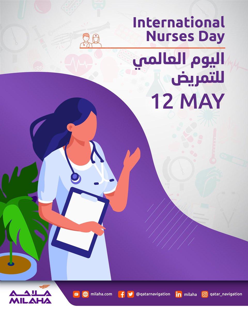 Today, let us honor our everyday health heroes. Happy International Nurses Day ! اليوم، دعونا نكرم أبطال الصحة اليومية لدينا و نتمنى لهم #اليوم_العالمي_للتمريض سعيد! #internationalnurseday #nurseday #qatar #nursesday #healthheroes #doha